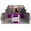 Detian Offer custom exhibit displays ideas exhibition stands trade show display booth