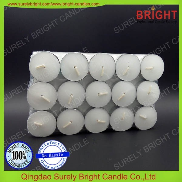 2017 Hot Selling White Tealight Cheap Candles