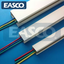 Self-Adhesive Mini Trunking Multi Size White PVC Cable Duct