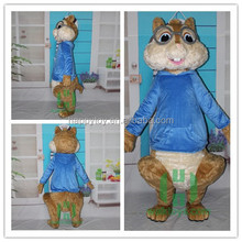 Guangzhou Funny Soft Toy Story Chipmunk Mascot Costume For Sale
