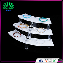 Acrylic Display Stand Jewelry Display Sets 3 Tier Jewelry Display Stand Store Holder
