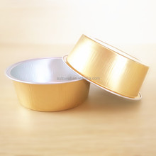 microwave smooth wall aluminium foil food container