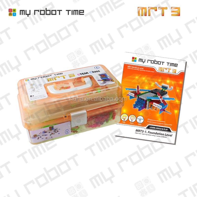 MRT3 new style Educational building block robot kit for Children over 8 years old