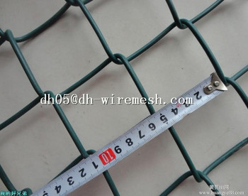 galvanized diamond chain link fence / 5 foot chain link fencing for sale