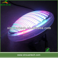 Waterproof 12V 54w rgb par56 swimming pool flat led lights