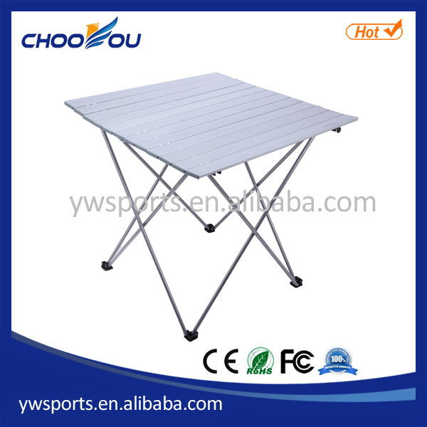 Contemporary top sell aluminum small folding camping table