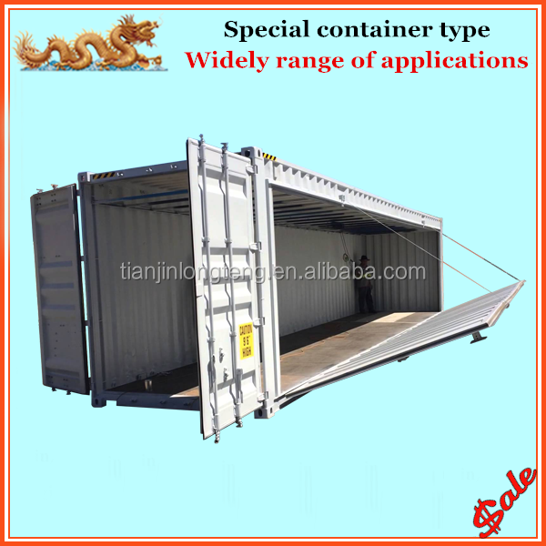 New special 20ft 40ft container with side drop down, exbition container