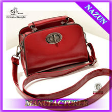 Korean fashion lady handbag with interior light customized