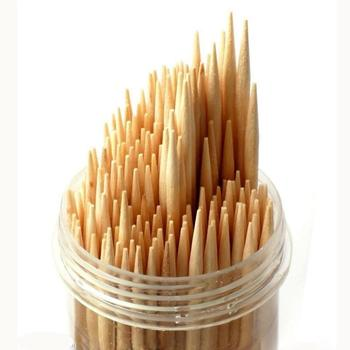 2.0*65mm Bamboo food grade toothpicks