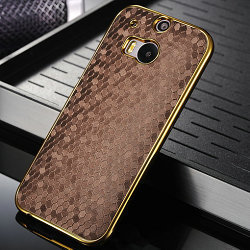htc one m8 gold case. Luxury Hard Case For Htc One 2 M8, Cover M8 Gold