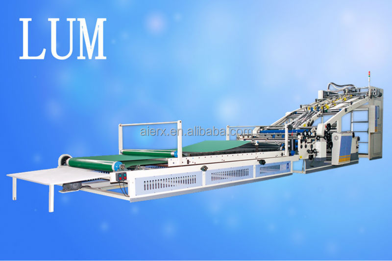 automatic corrugated cardboard flute laminator for carton box making machine prices CE and ISO9001