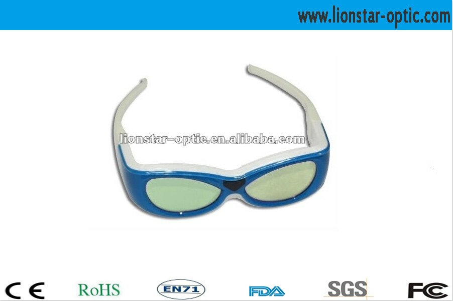 RF/ Radio Frequency Active Shutter 3D Glasses for smart TVs