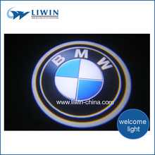 Factory price super bright hiway car door light, car logos and their names for bmw