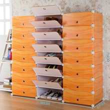 Easy to disassemble high capacity pp boot shoe rack