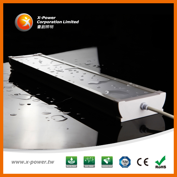 hotest selling1500mm 43W SMD2835 IP65 LED battens