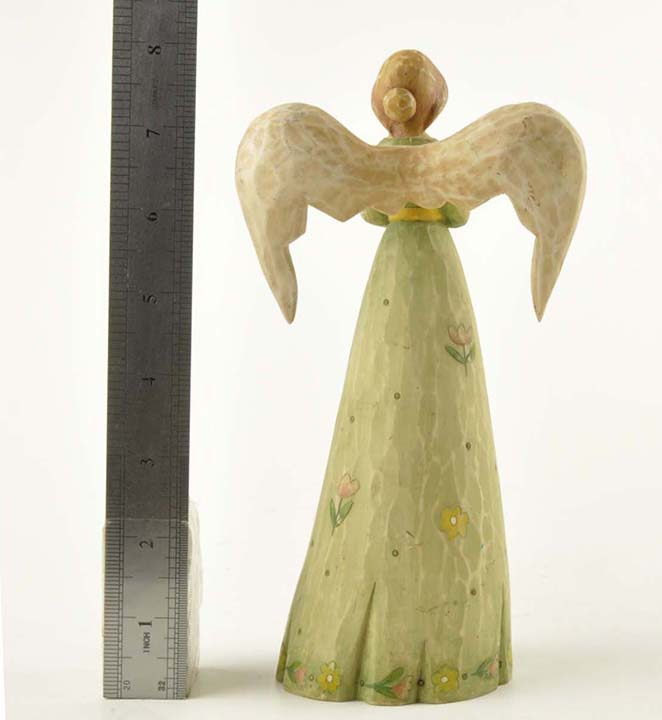 China design resin angel figurine with wings