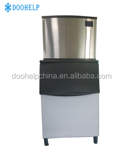 Commercial self-adaptation industrial ice cube maker machine with computerized control