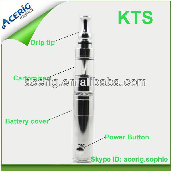 2013 New telescopic mod GGTS gold KTS ecigarette