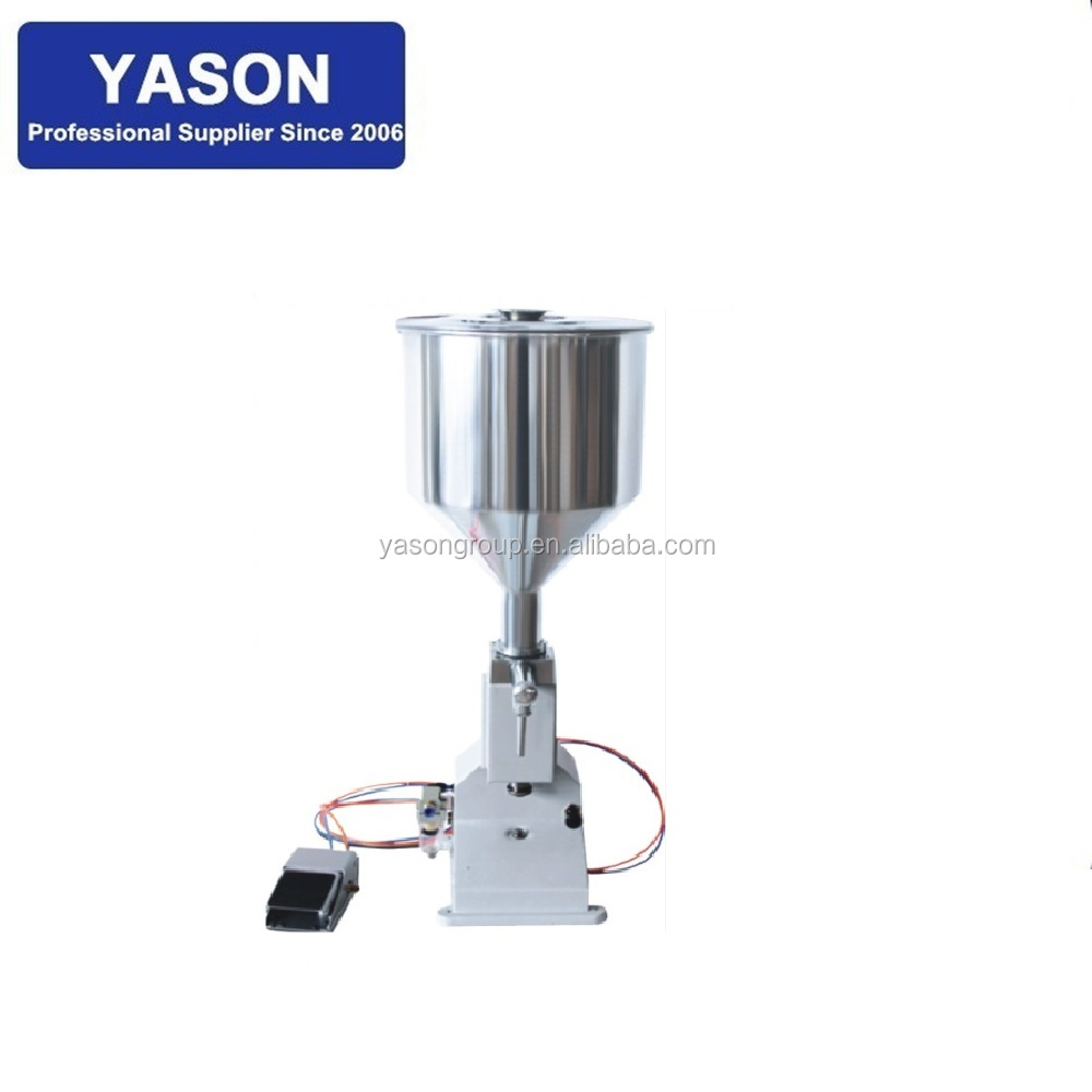 <strong>A02</strong> 5--50ml Vertical Piston Cosmetic Cream Lotion Filling Machine