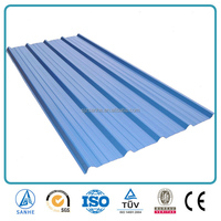 corrugated flexible metal roofing sheet