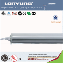 upgrated structure 2016 Zhong Shan T8 integrated led linear light 100lm/w