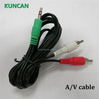 24+5 hd dvi cable av out cable usb to av output cable 3.5mm