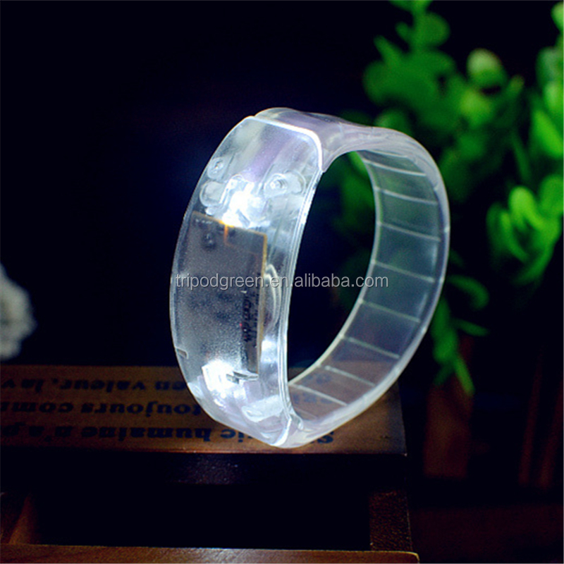 Newest Sound Activated Glowing LED Bracelets in 2017