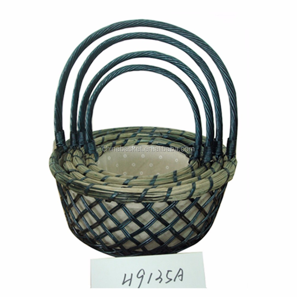 decorative willow gift basket