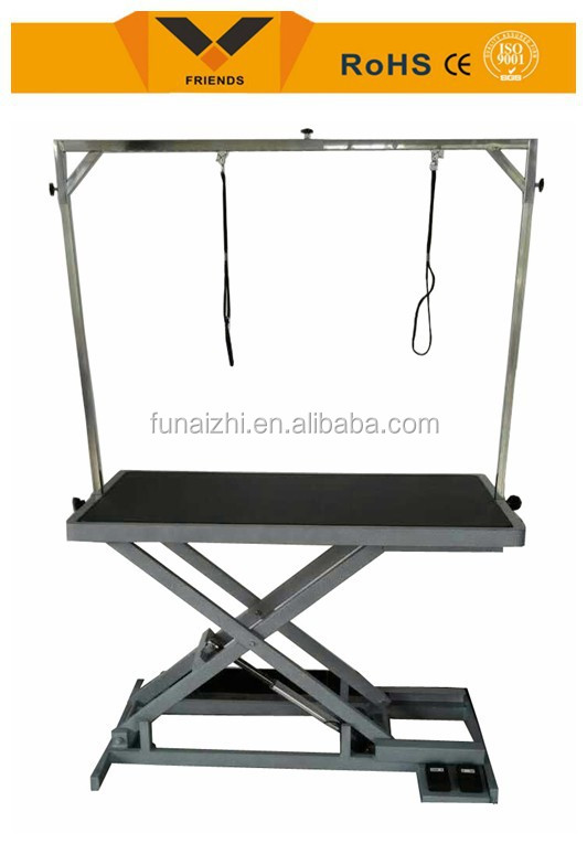 Stainless Steel New Adjustable Pet Grooming Table foldable pet dog grooming table