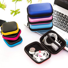 Headset Mobile Phone Data Cable Charger Square Storage Box