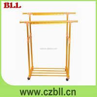L311 Baililai double-pole Movable retractable clothes drying rack heavy duty towel hanger/home hanger