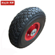 3.00-4 airless solid rubber wheel for trolley cart