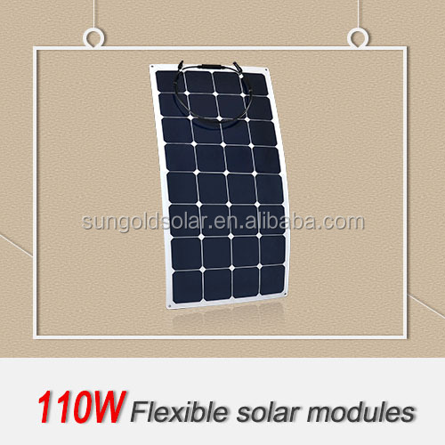 2017 high quality cheap wholesale flexible solar panels