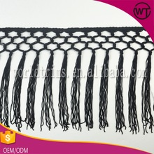 Factory price rayon chainette fringe,dance costume fringe WFT14