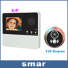 2.8 Inch LCD Digital Door Peephole Viewer 120 Degrees Camera Photo With Doorbell Free Shipping