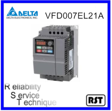 VFD007EL21A 1.0HP 750W 230V Original Taiwan Delta Multiple Function AC Motor Variable Speed Frequency Micro Type Drive Inverter