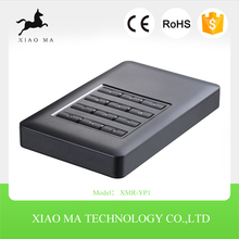 "2.5 Inch SATA Aluminum External HDD Case 2.5"" USB3.0 SSD HDD Enclosure Support 2TB XMR-YP1"