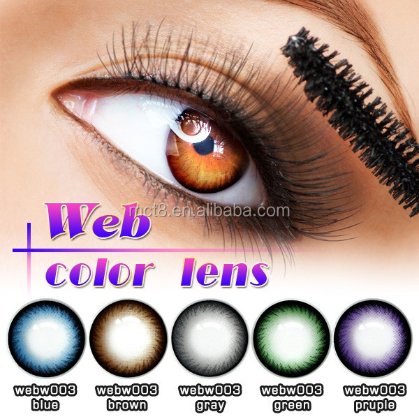 wholesale large quatity color contact lenses at stock Cosmetic Charming Magic Eye Contact Lens