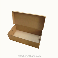 cheap retail foldable converse brown kraft shoe boxes for sale