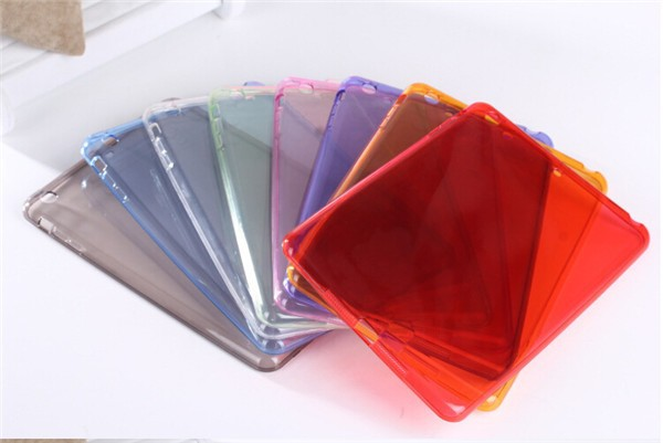 Transparent case for ipad mini, for ipad mini cover case soft tpu case