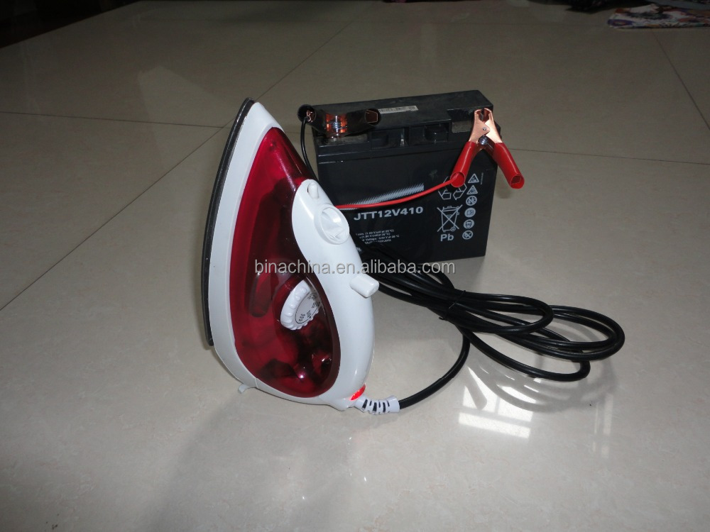 12V Press Steam Cloth Electric Iron