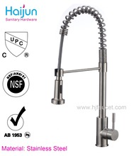 Pull out kitchen tap 304 stainless steel kitchen faucet