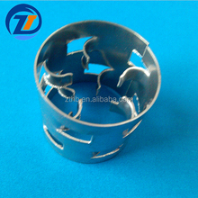 SS304 SS316 Stainless Steel Metal Pall Ring Metal Random Packing