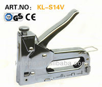 3 way hand manual staple gun tacker with GS certificate