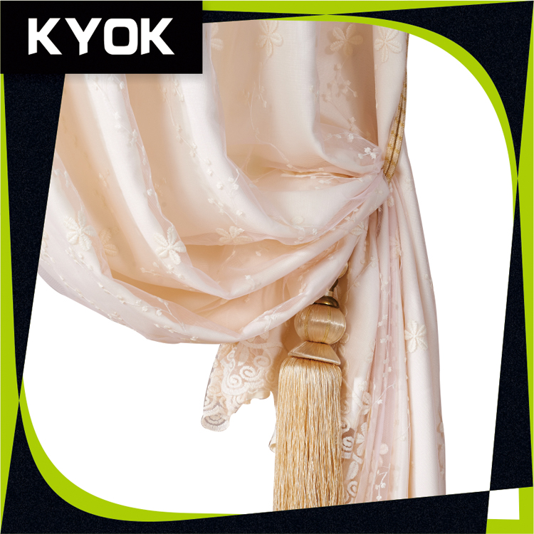 Top quality home wholesale curtain for the living room drape