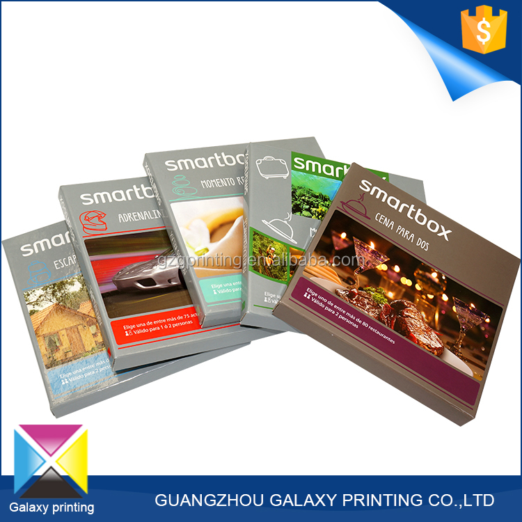 Best selling products cardboard custom box packaging making lid and base box to put the books in