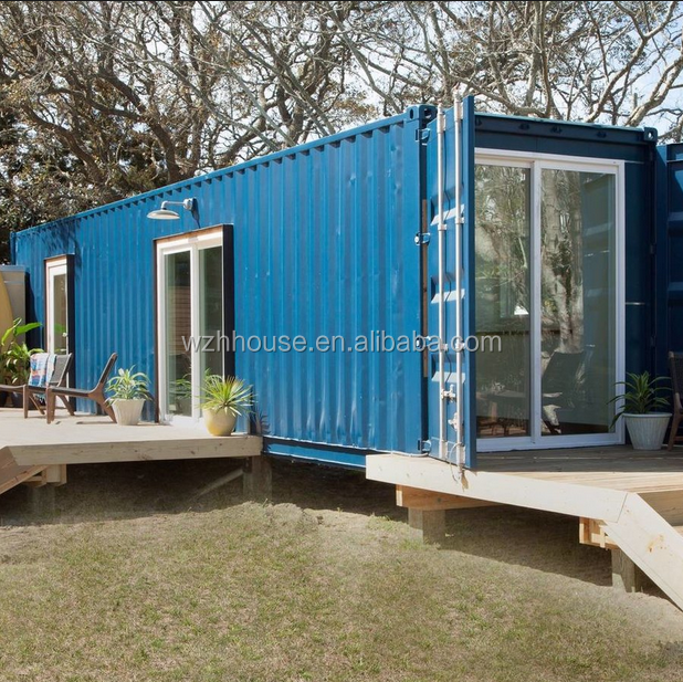 Removable Prefab Container House Modified Shipping Container Homes