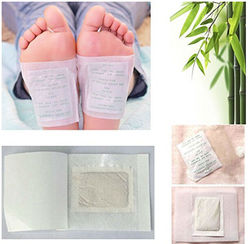 korea japanese Slim Pads detox foot patches with adhesive /Bamboo Charcoal Detox Foot Patches for slimming and relaxing