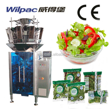 Economic Price Fresh Vegetable Salad Vertical Weighing Filling Packing Machine