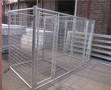 stainless steel dog cage hot dip galvanize dog crate